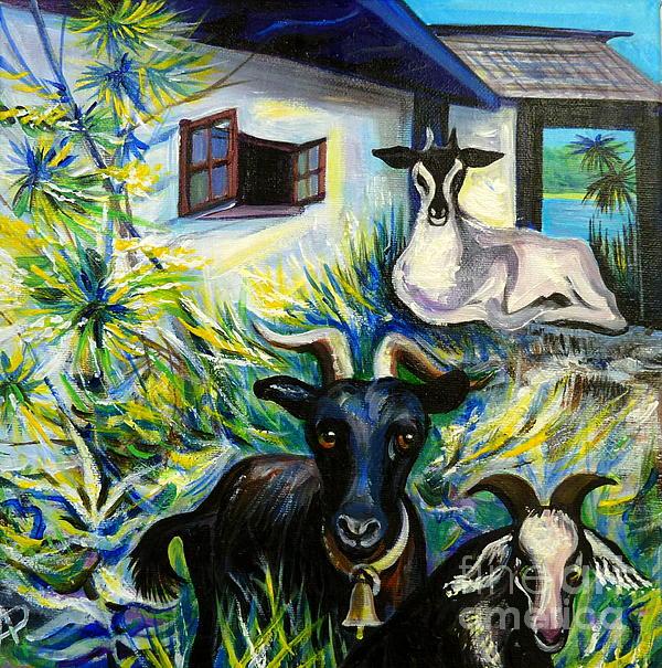 Anna  Duyunova - Countryside of Jamaica
