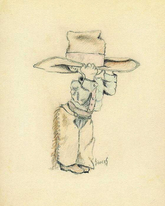 Cowboy Print by Sam Sidders