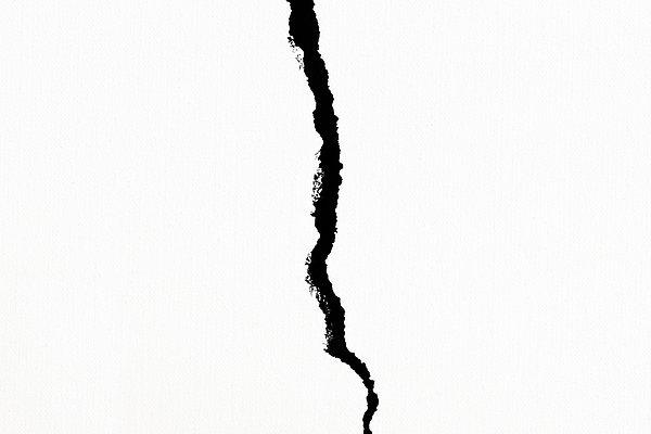 Crack Print by Alexander Senin