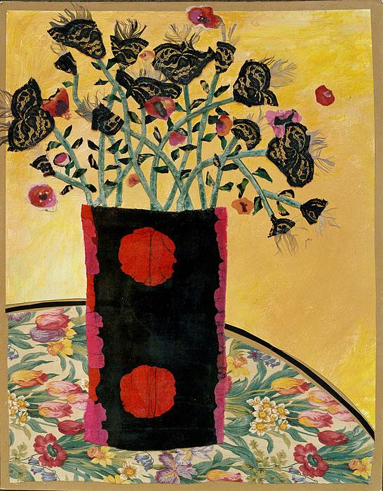 Cranberry Bouquet Print by Diane Fine