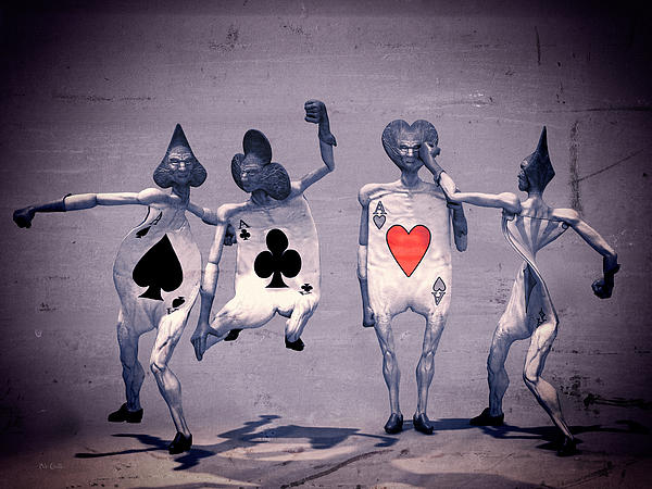 Crazy Aces Print by Bob Orsillo
