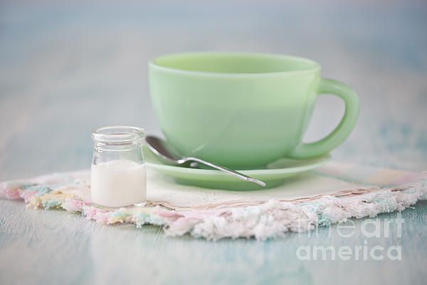 Cream And Coffee Print by Kay Pickens
