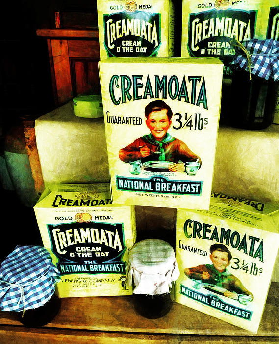 Creamoata - Cream  O' The Oat Print by Steve Taylor