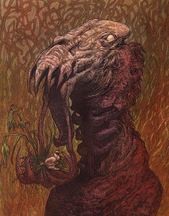 Croakjaw Print by Ethan Harris
