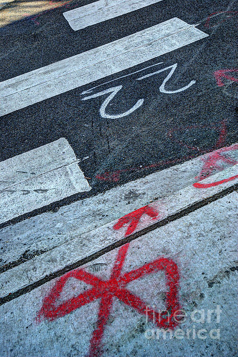 Crosswalk Print by Jim Wright