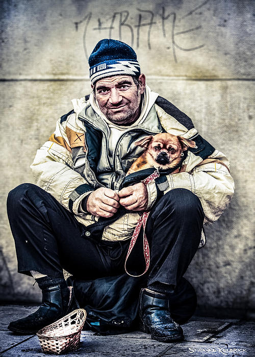 Cruel Street Life Print by Stwayne Keubrick