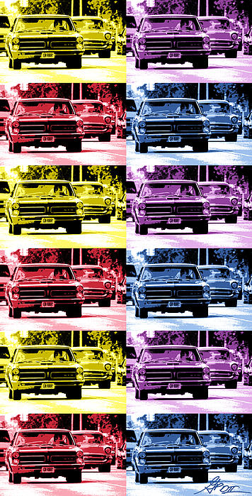 Cruise Pop 4 Print by Gordon Dean II