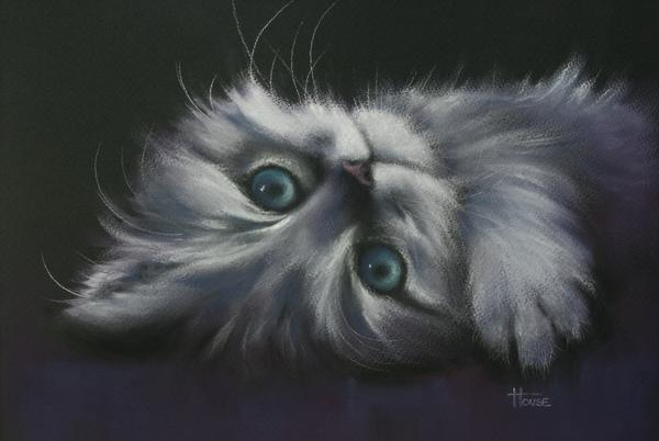 Cuddles Print by Cynthia House
