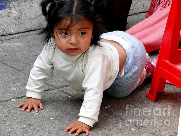 Cuenca Kids 251 Print by Al Bourassa