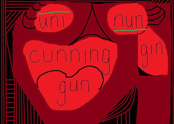 Cunning  Print by Anita Dale Livaditis