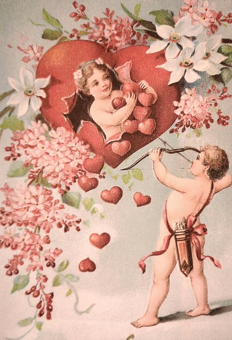 Cupid Print by M and L Creations