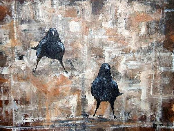 Kathy Sampson - Curious Crows