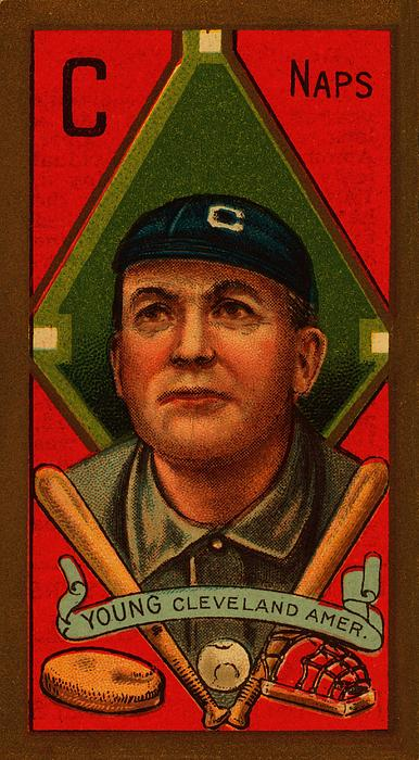 Cy Young 1911 Baseball Card Print by Movie Poster Prints
