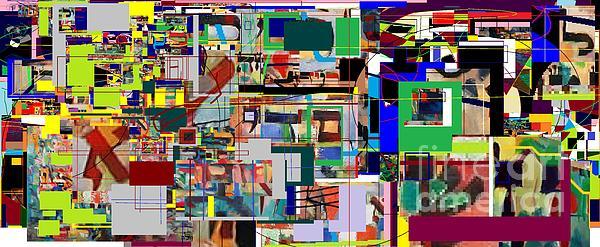 Daas 6 Print by David Baruch Wolk
