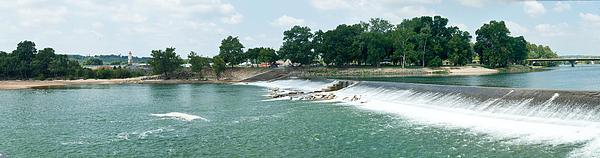 Dam At Batesville Arkansas Print by Douglas Barnett