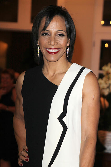 Dame Kelly Holmes 2 Print by Jez C Self