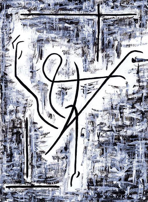 Dance Class Print by Kamil Swiatek