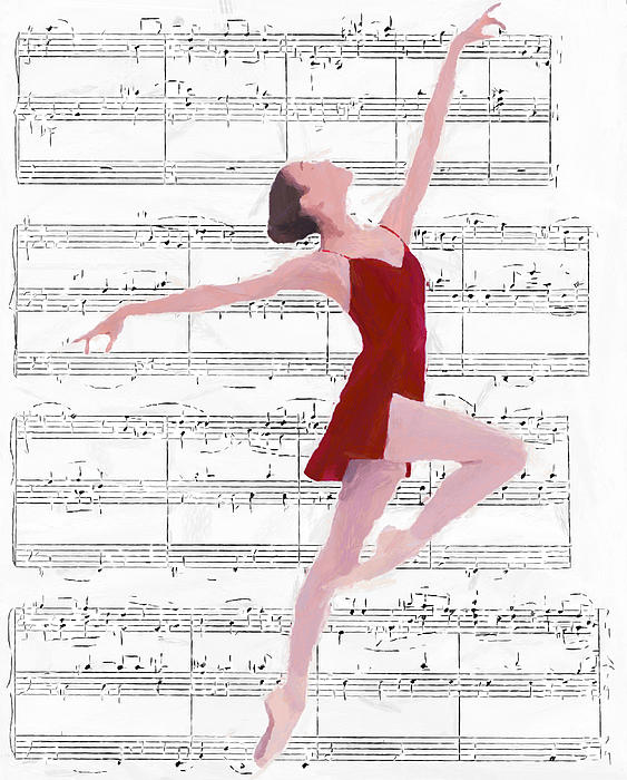 Dance To The Music Print by Stefan Kuhn