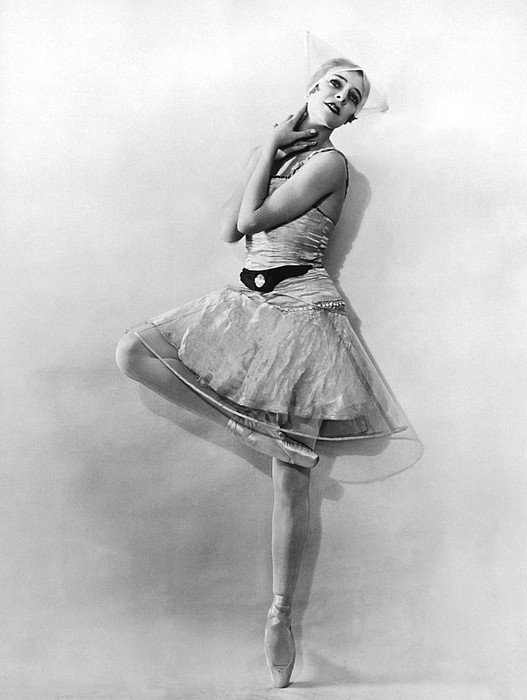 Dancer Nikitina At Monte Carlo Print by Underwood Archives