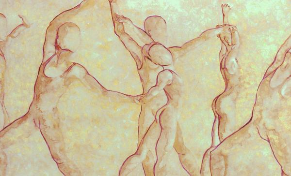 Dancers - 10 Print by Caron Sloan Zuger