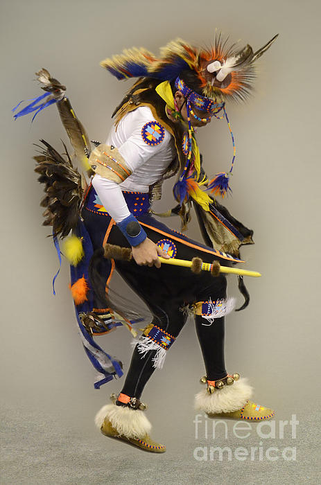 Dancing For The Spirit Print by Bob Christopher