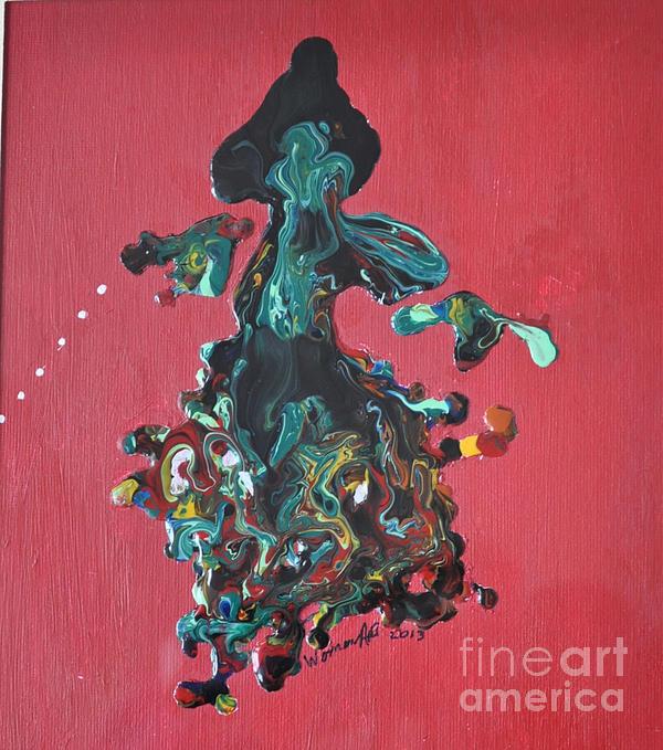 Dancing Lady Print by Brenda Chapman