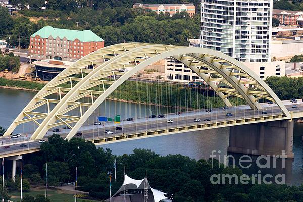 Daniel Carter Beard Bridge Cincinnati Ohio Print by Paul Velgos