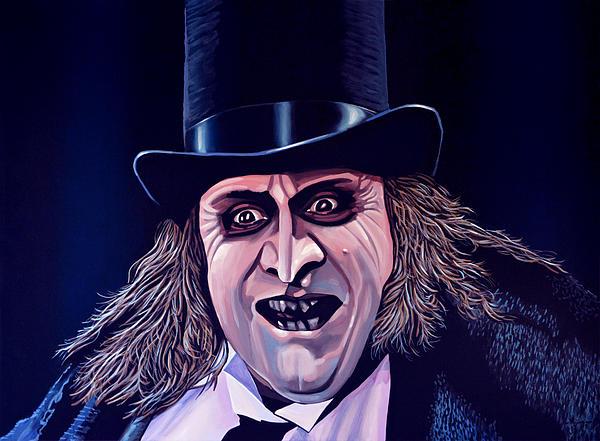 Danny De Vito As The Penguin Print by Paul  Meijering