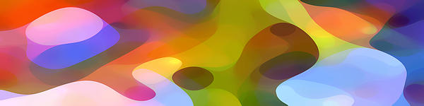 Dappled Light Panoramic 2 Print by Amy Vangsgard