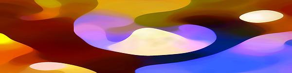 Dappled Light Panoramic 4 Print by Amy Vangsgard