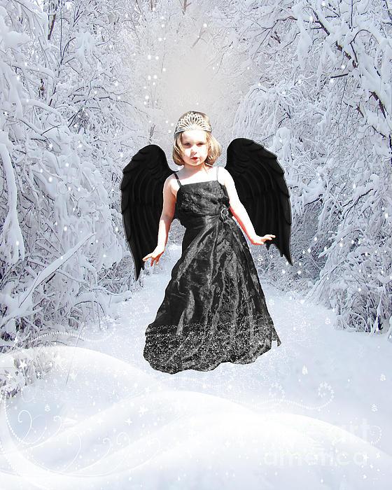 Dark Fairy Print by ChelsyLotze International Studio