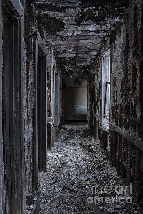 Dark Halls Print by Margie Hurwich