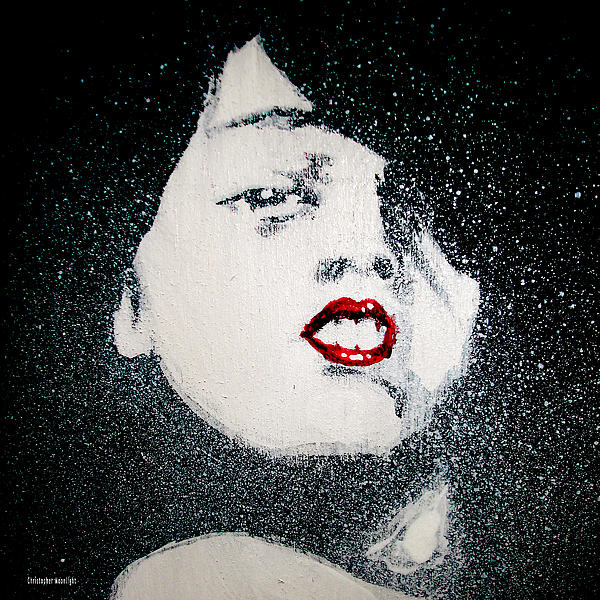 Darling Print by Christopher Moonlight