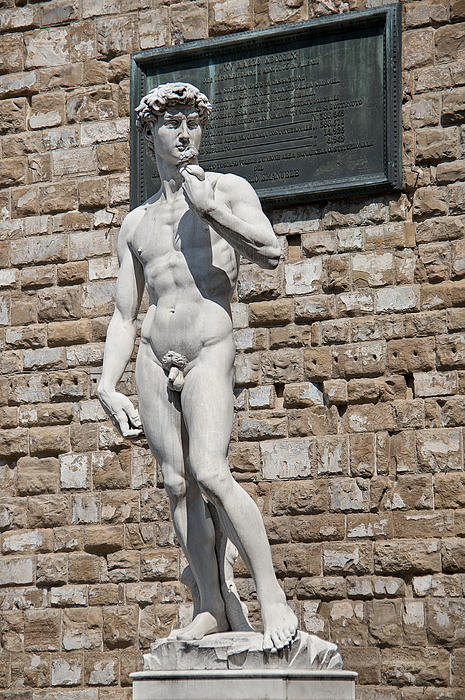 David By Michelangelo Print by Melany Sarafis
