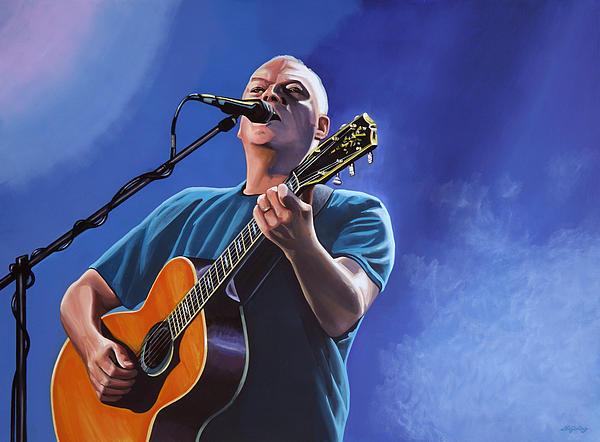 David Gilmour Print by Paul  Meijering