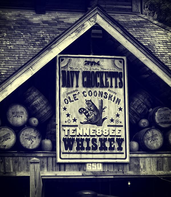 Davy Crocketts Tennessee Whiskey Print by Dan Sproul
