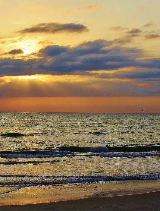 Dawn Is Breaking Print by Bruce Bley