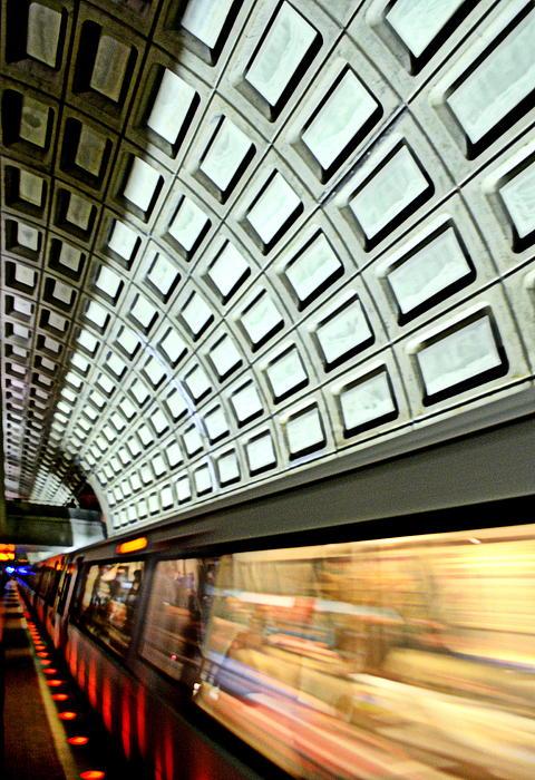 D.c. Metro Print by Ryan Johnson