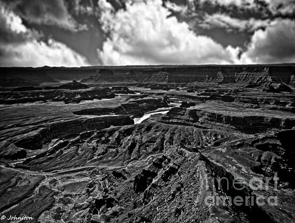 Dead Horse Point Utah Print by  Bob and Nadine Johnston