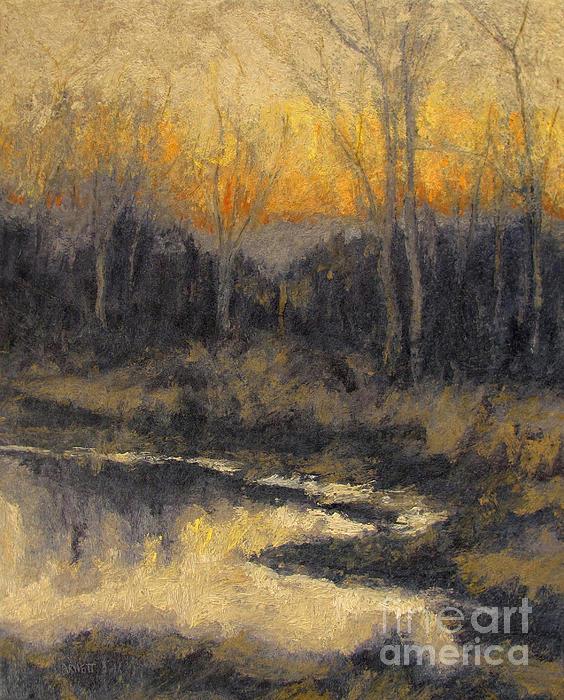December Reflection Print by Gregory Arnett