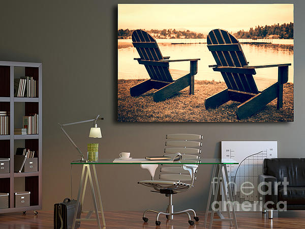 Decorating With Fine Art Photography Print by Edward Fielding