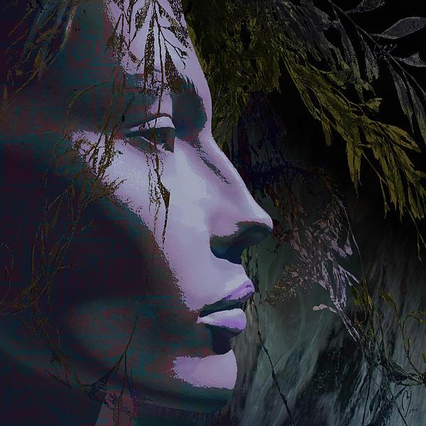 Deep Under Print by Maria Jesus Hernandez