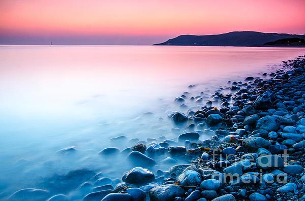 Deganwy Sunset Print by Darren Wilkes