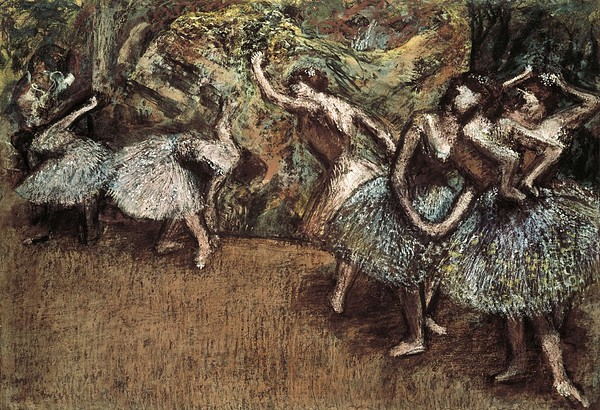 Degas, Edgar 1834-1917. Ballet Scene Print by Everett