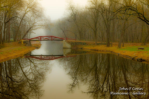 John Covin - Delaware Canal Walking Bridge