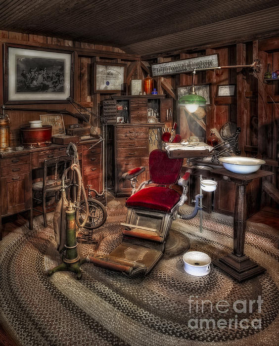 Dentist Office Print by Susan Candelario
