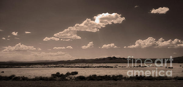 Desert Clouds Print by Gregory Dyer