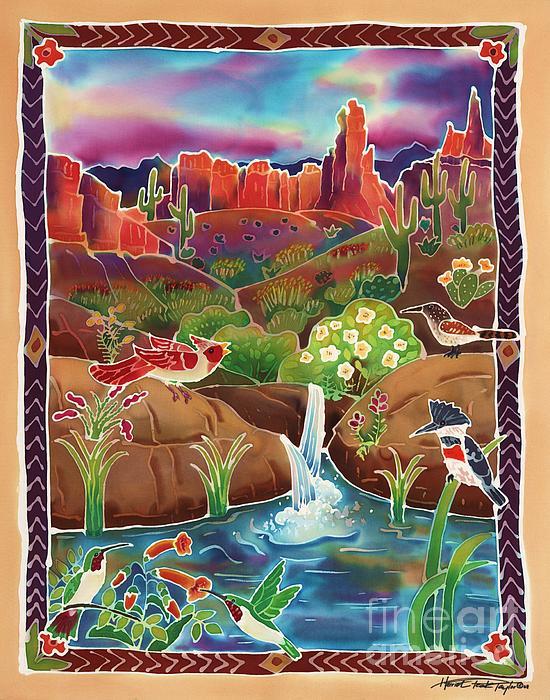 Desert Oasis Print by Harriet Peck Taylor