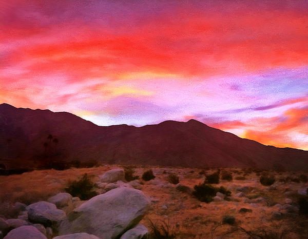 Michael Pickett - Desert Twilight
