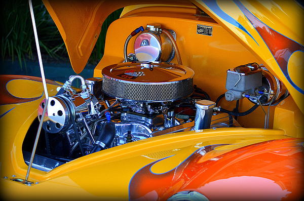 Stan Askew - Detail - Hot Rod Engine